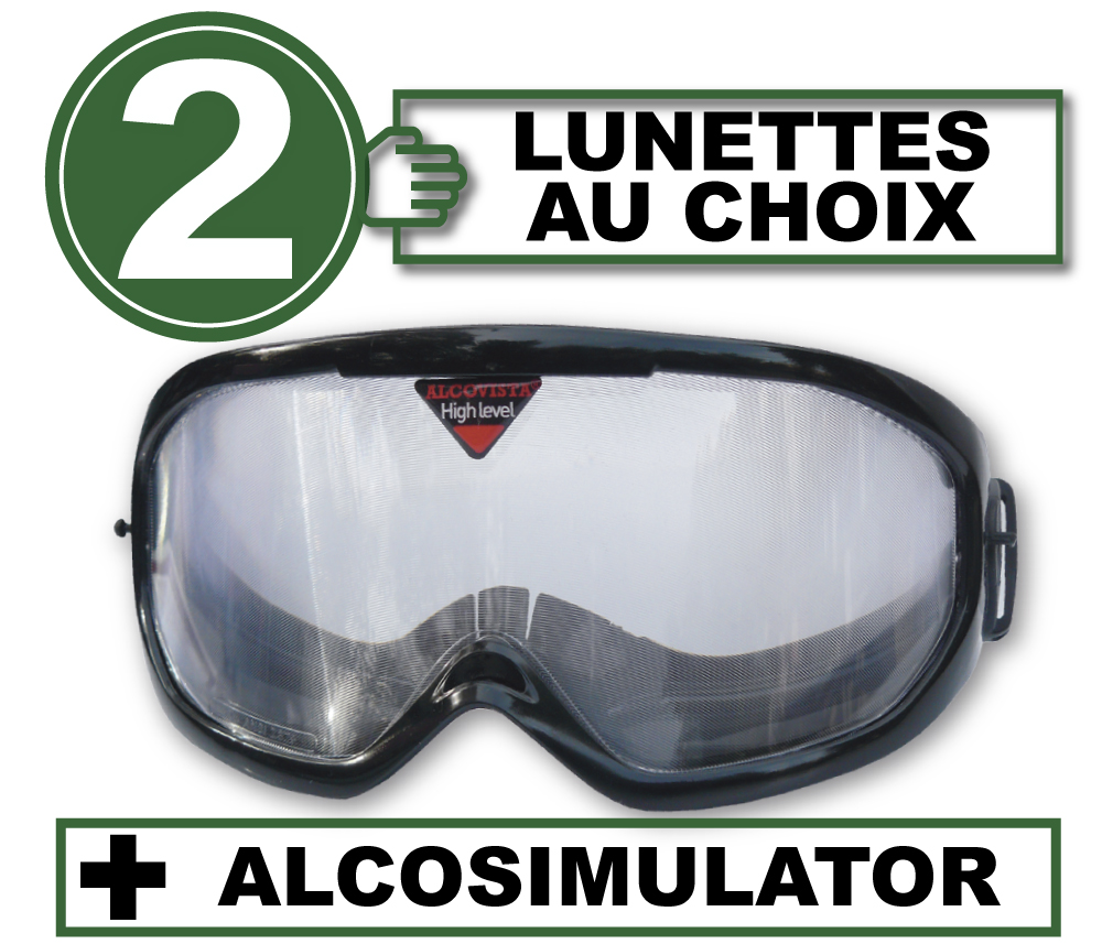 FR pack 2 lunettes alco