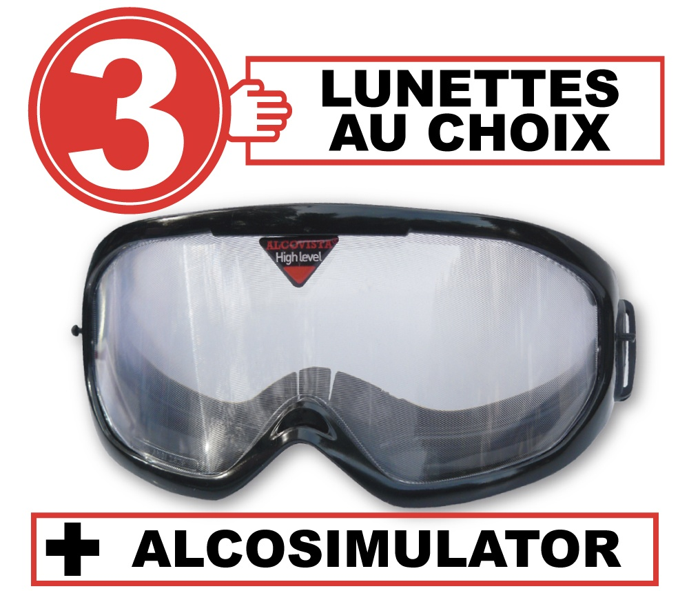 FR pack 3 lunettes alco