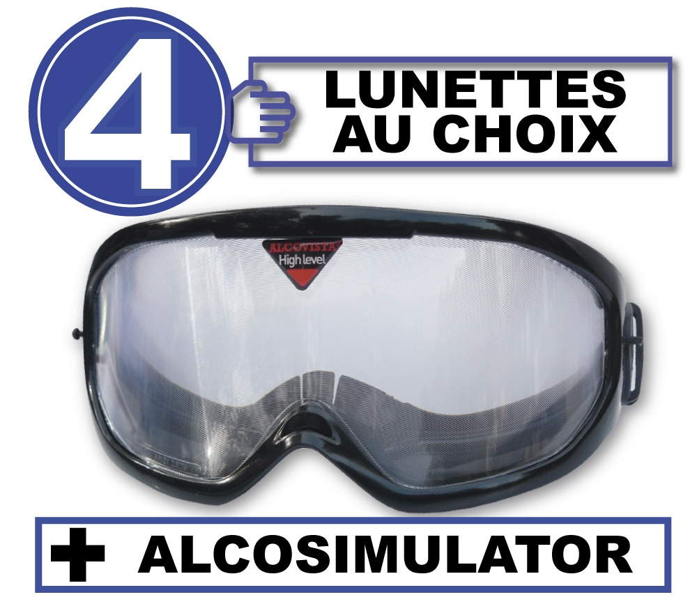 FR pack 4 lunettes alco