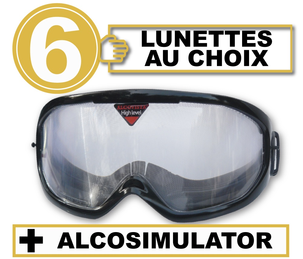 FR pack 6 lunettes alco